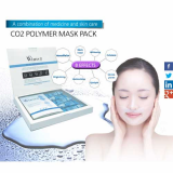 Co2 polymer mask pack