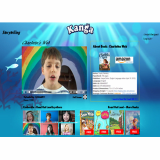 Web service for children-s book video content