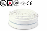 1 inch PVC colorful fire canvas hose_flexible fire fighting