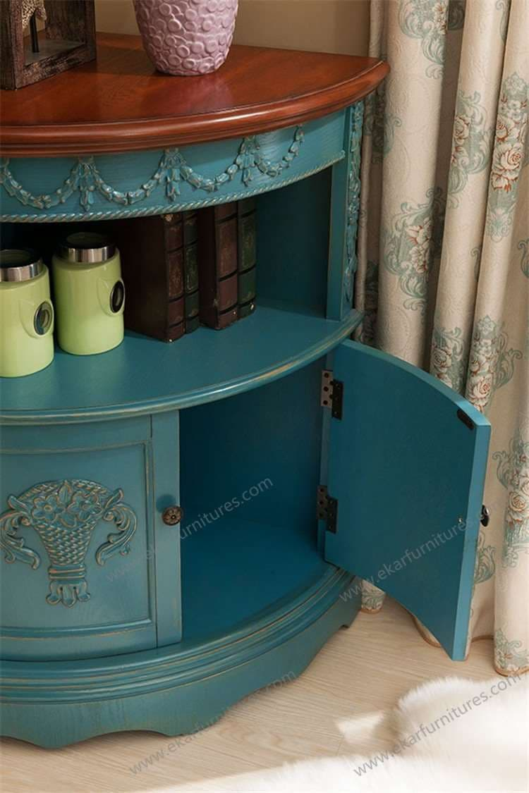 Vintage Corner Cabinets Living Room Storage Cabinets From