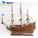 LE SOLEIL ROYAL WOODEN MODEL SHIP