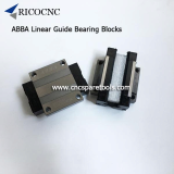 ABBA Linear Guide Bearings Slider Blocks for CNC Machine