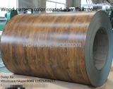 Wood pattern prepainted aluminum coils for roofing