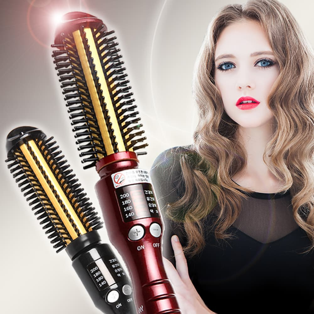 SS SHINY VOLUME QUEEN CURLING IRON Hair Styler Straight Curl