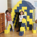 eco friendly FOART PLAY BLOCK various item can be made