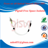 Pigtailed Free Space Isolator