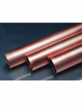 Straight copper tubing