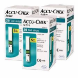 Accu Chek Active Blood Glucose Test Strips