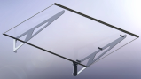 Glass Canopy, Gazebos, Entry Canopy,DIY Awning,Door Awning,Window Canopy,Door Canopy Cn,PC Canopy