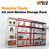 Boltless Shelf Rack steel W60__W120cm 2_5 Layers _ Storage