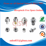 Receptacle With Isolator_ fiber isolator