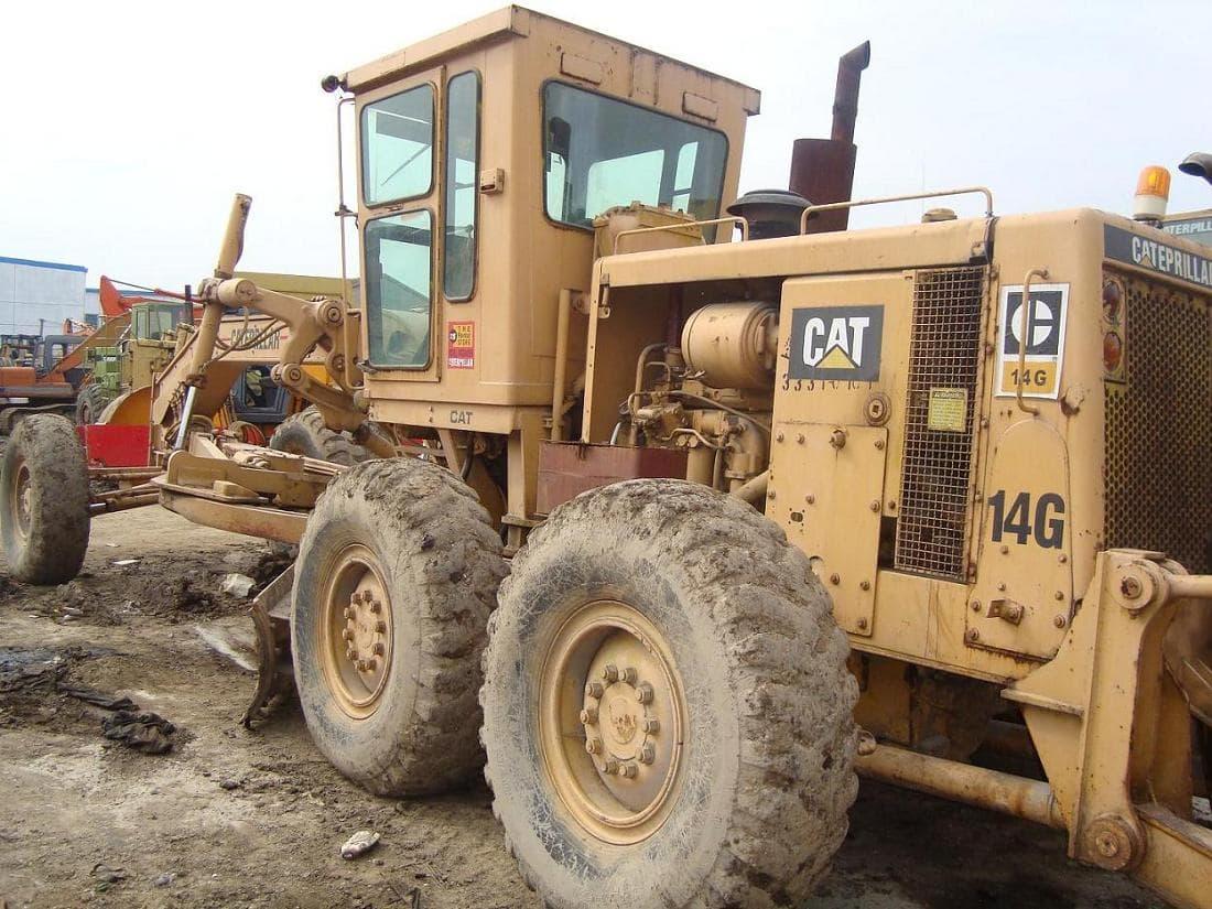 used cat motor grader 14G