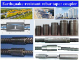 Earthquake-resistant rebar coupler
