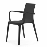 modern plastic coffee arm chair furniture