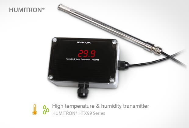 Industrial Temp-Humidity Transmitter -HTX99R-