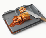 Double Save D Cutting Board