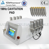 1Mhz cavitation slimming machine with 8 pads