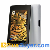 Leopard - 7 Inch Screen Android 4.1 Tablet PC (1024x600, 1GHz Dual Core CPU, 1GB RAM, 8GB)