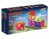 Click Block_ Magnet educational toy 2D BasicHouse Set 45pcs
