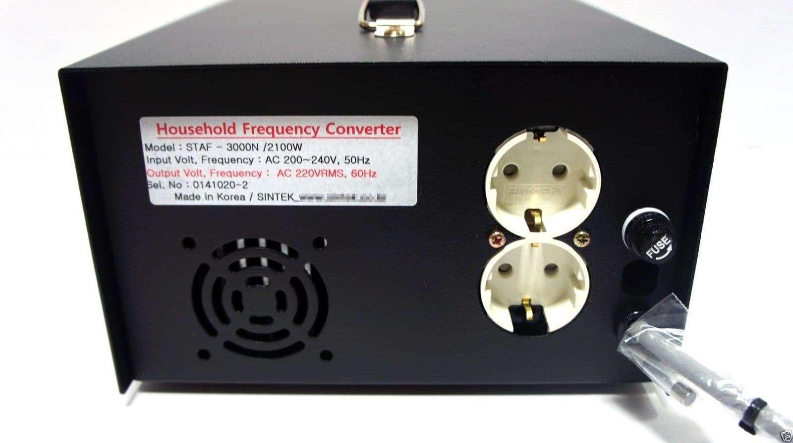 Household Frequency Converter