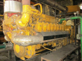 Caterpillar 3516C 1665 KW Gas engine For Sale