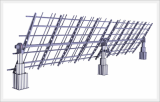 Single-axis Solar Tracker