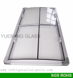 island freezer glass door