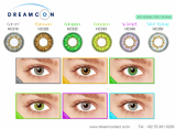 Color contact lens