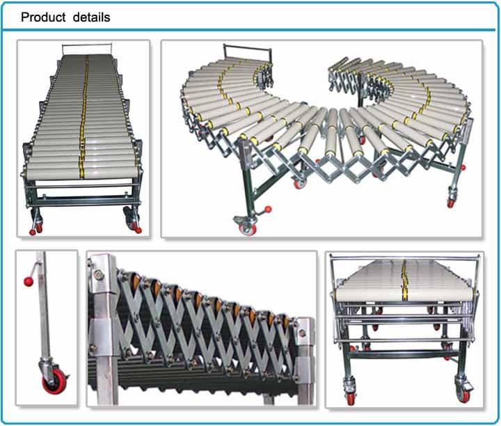 Flexible PVC Roller Conveyor | tradekorea