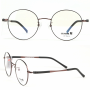 Point hinge with round metal front Eyewear_No_ 9005_