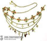 jbelt-08188 fashion chain belt