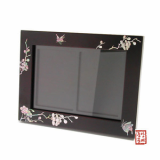 korean traditional patterned picture frame