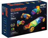 Click Block_ Magnet educational toy 2D Mini Car Set 34pcs