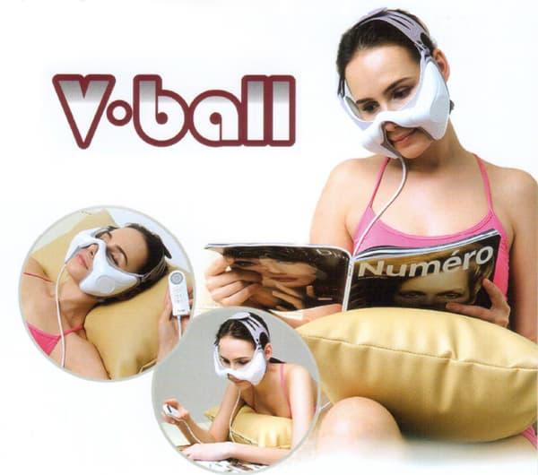 V ball facial massager product