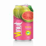 330ml Canned Fruit Juice Guava Juice Drink Supplier