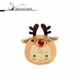 Christmas -x-mas- Rudolf B point hairpin