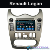 Dual Din Car DVD Player Renault Logan Android GPS Nav Radio
