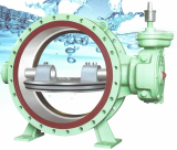 Butterfly valve-Double sealing type-