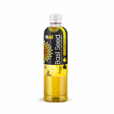 450ml Basil seed drink with Pineapple flavor