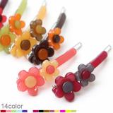 D Flower point hairpin