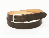 men_s brown leather cowhide belt