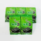 Mokpomihang green tea seasoned laver