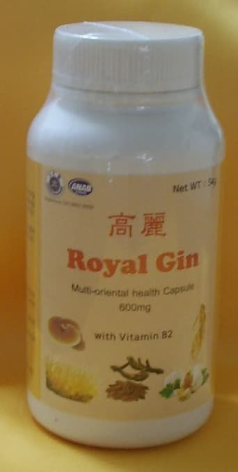 Korea Royal Gin   multi health capsule