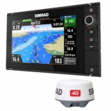 SIMRAD NSS9 Evo2_Broadband 4G Radar Bundle