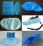 PE shoe cover, CPE shoe covers, PP Non-woven shoe covers, ESD PP non-woven shoes covers,