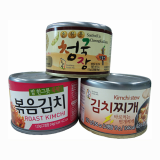 Canned Foods _Stir fried kimchi_ kimchi stew_ CheongGukJang_