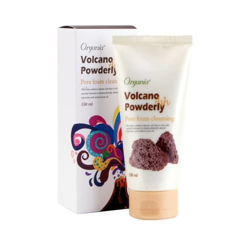 Organia Volcano Powderly Pore Foam cleanser