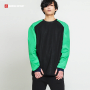Hotsuit Round green Top Round neck Sauna suit Top