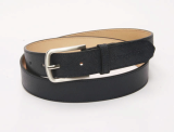 men_s navy leather cowhide belt