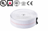wear resisting Double Coated PVC Lined Fire Hose for marine